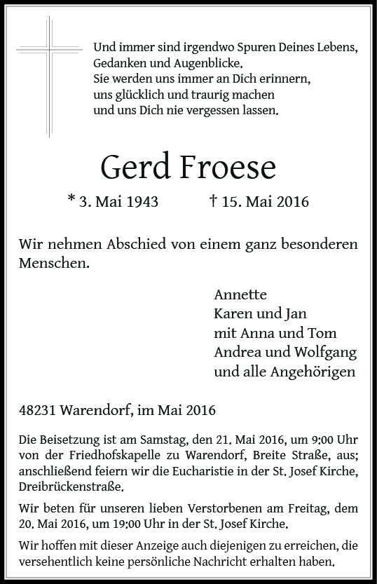 Froese, Gerd