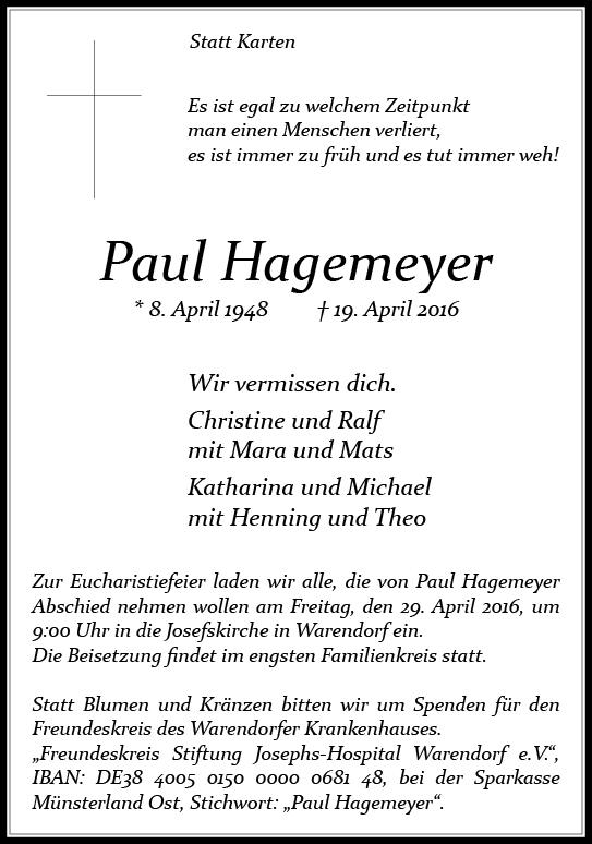 Hagemeyer, Paul