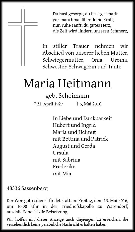 Heitmann, Maria
