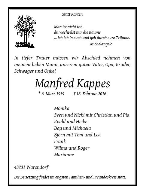 Kappes, Manfred