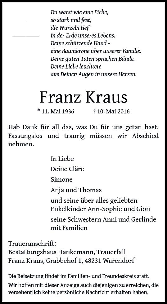 Kraus, Franz