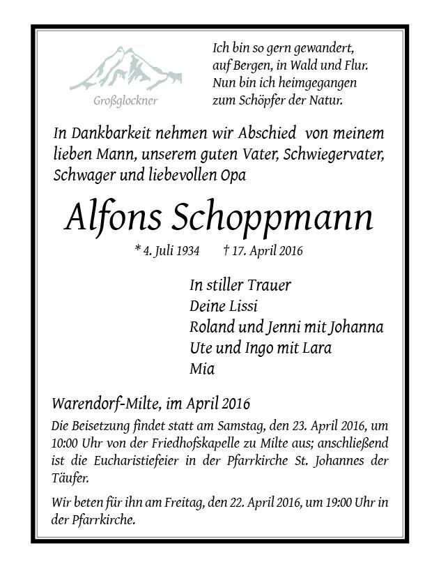 Schoppmann, Alfons