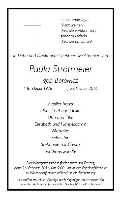 Strotmeier, Paula