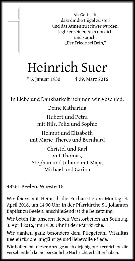 Suer, Heinrich