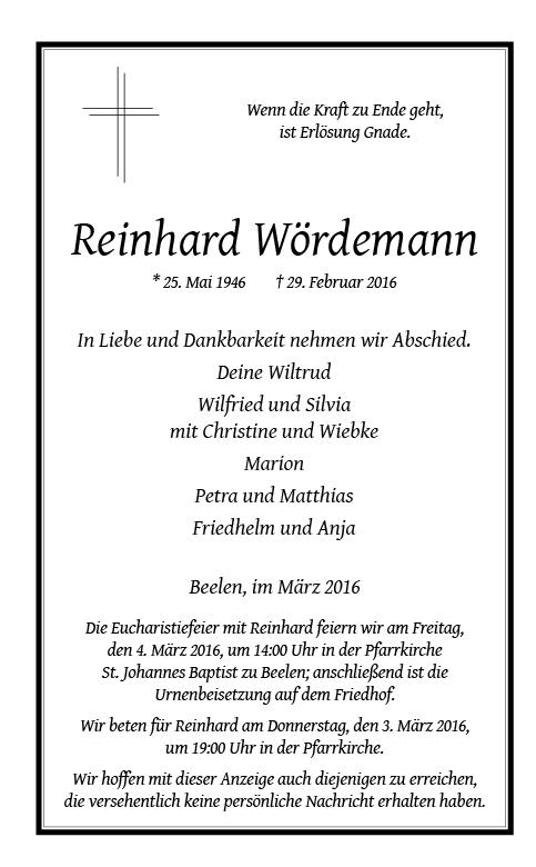 Woerdemann, Reinhard