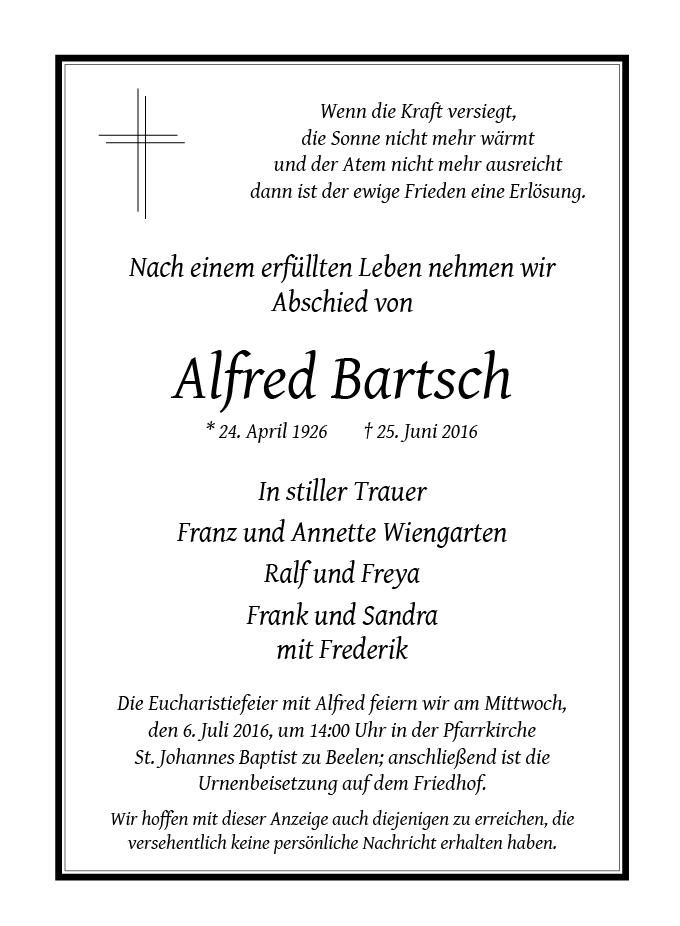 Bartsch, Alfred