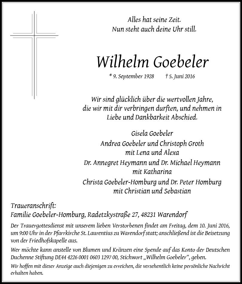 Goebeler, Wilhelm