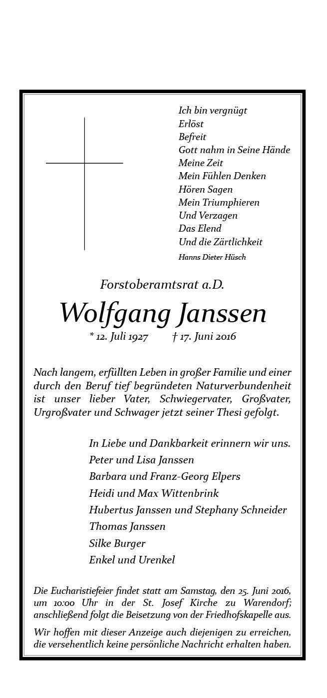 Janssen, Wolfgang