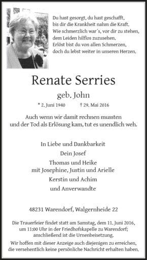 Serries, Renate