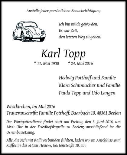 Topp, Karl