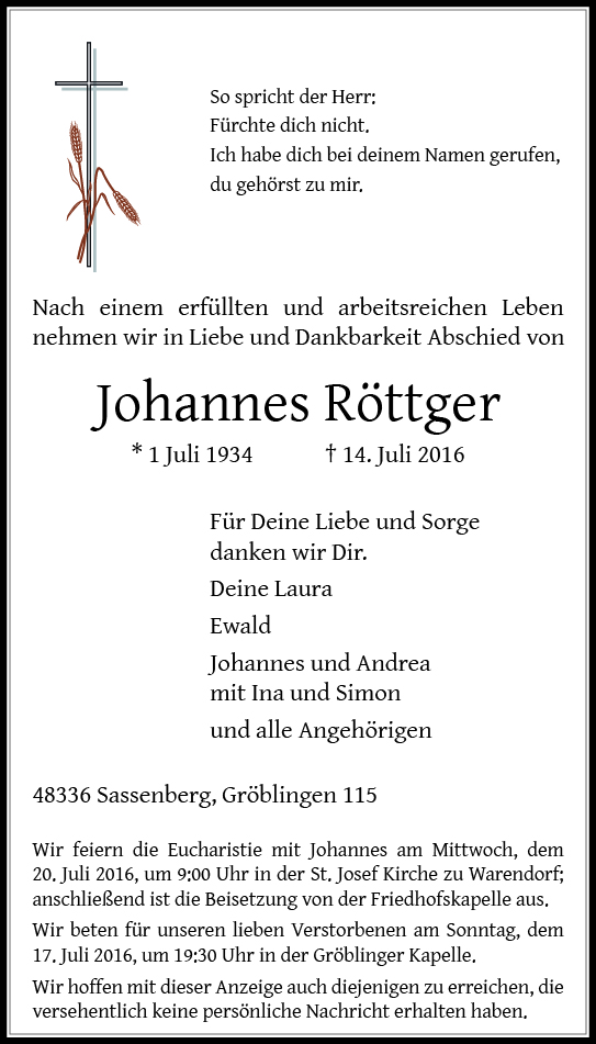 Roettger, Johannes