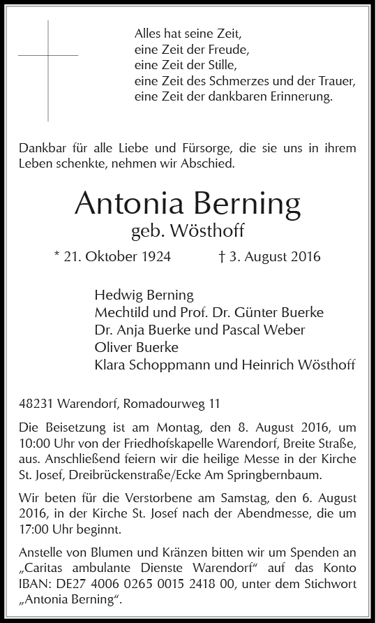 Berning, Antonia