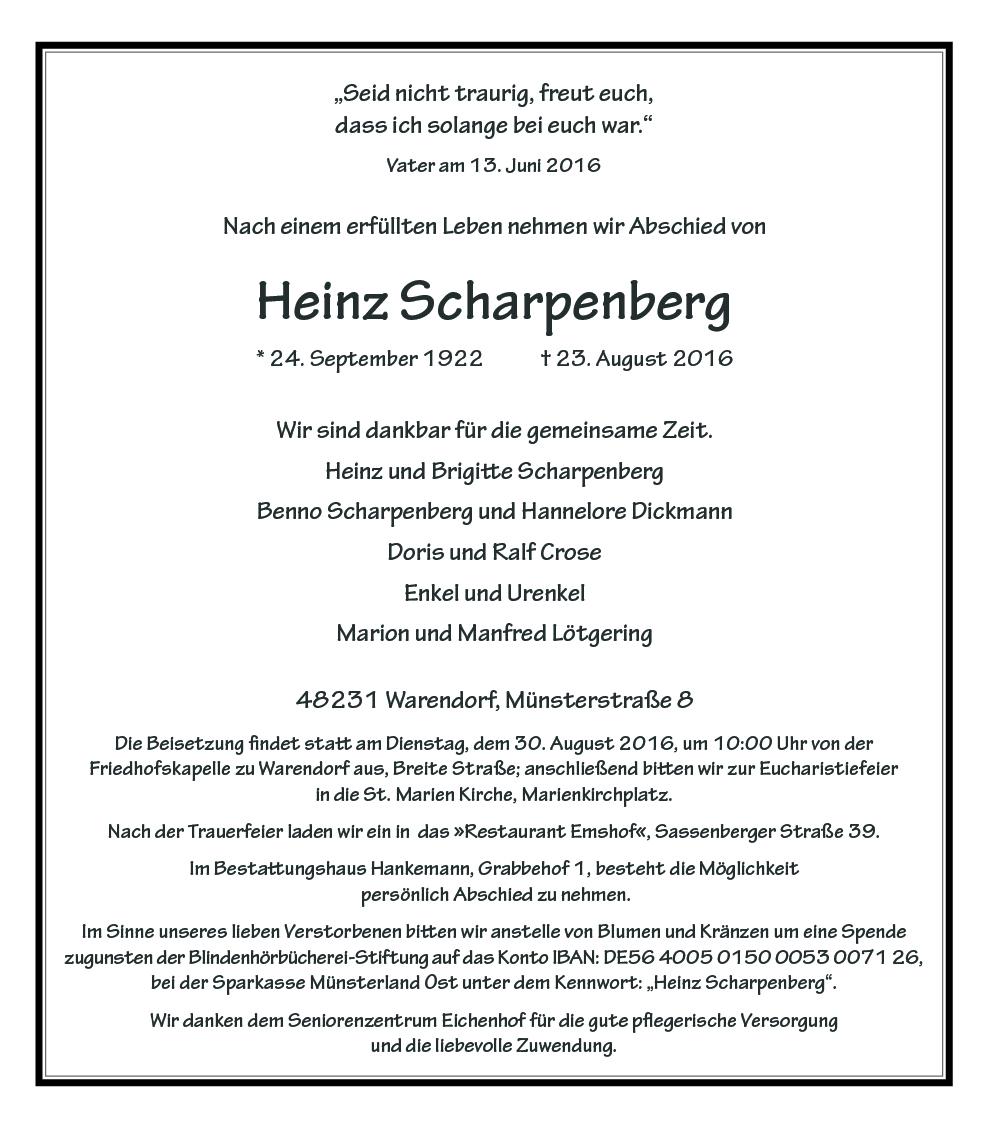 Scharpenberg, Heinz