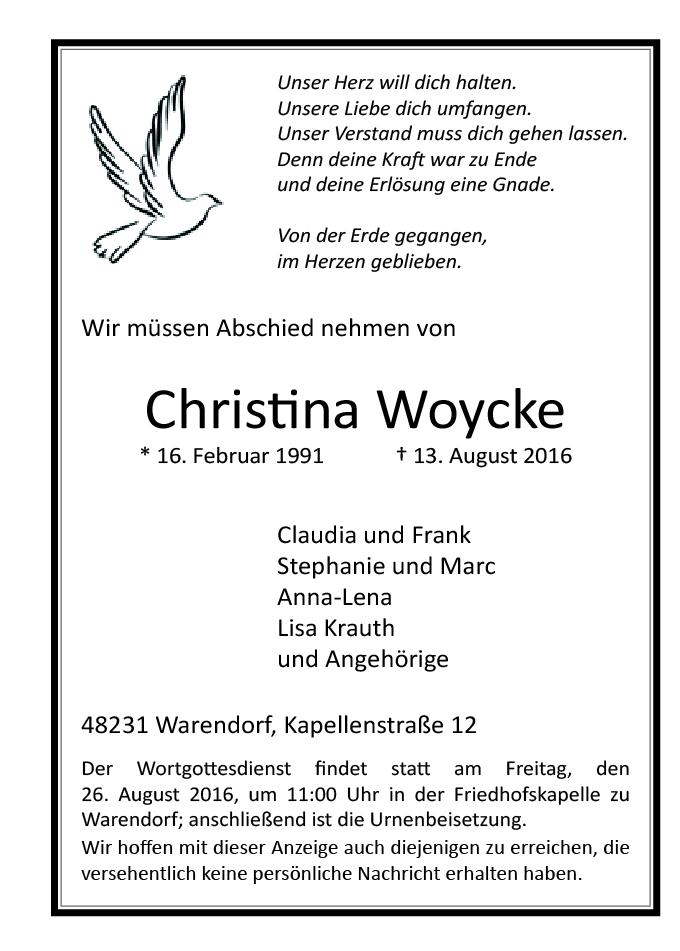 Woycke, Christina