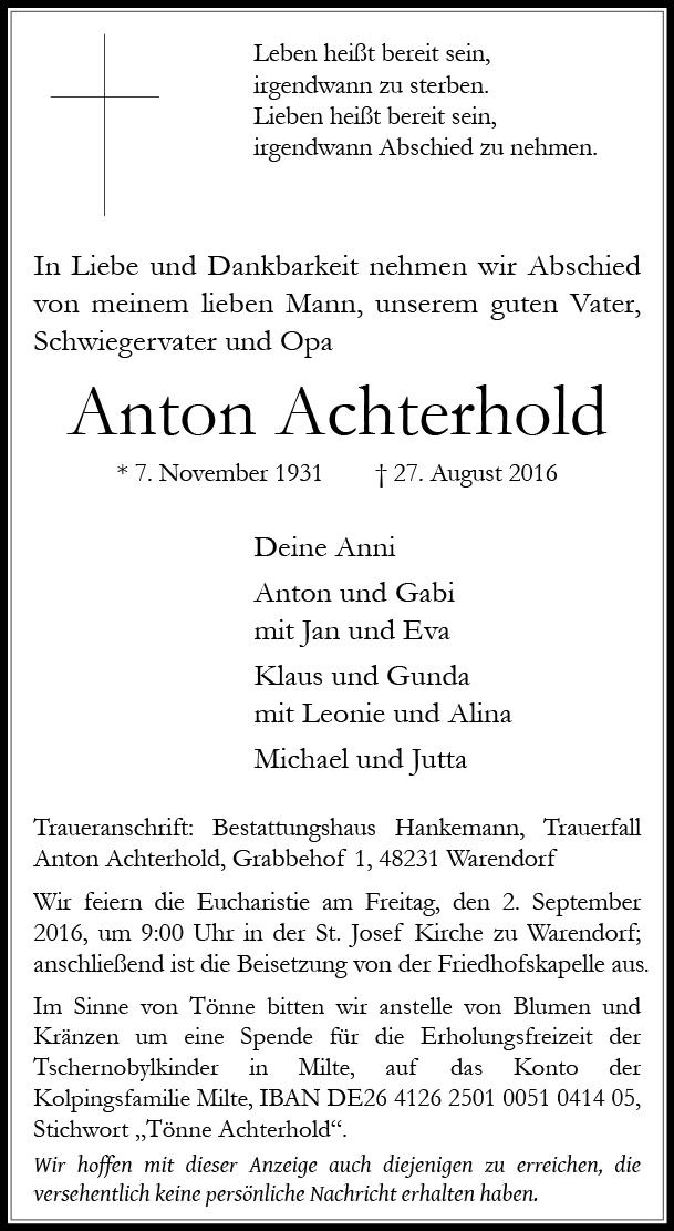 Achterhold, Anton