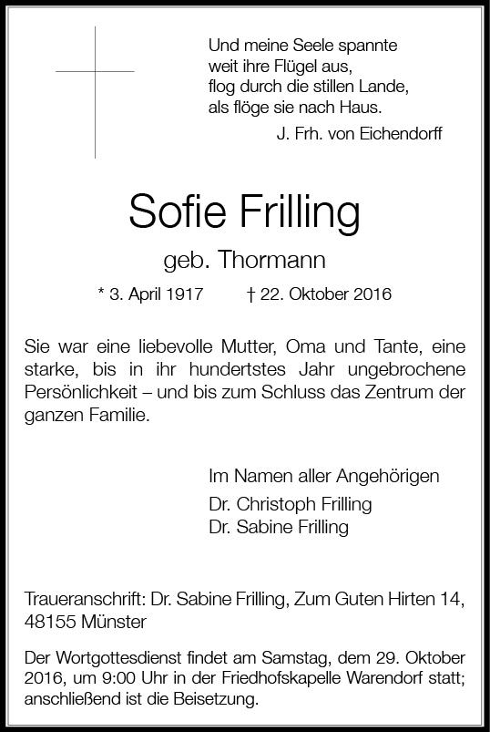 frilling-sofie