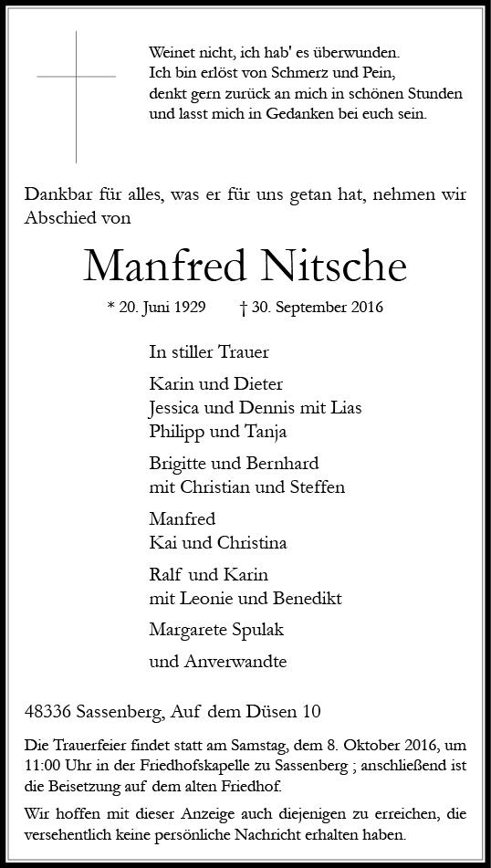 nitsche-manfred